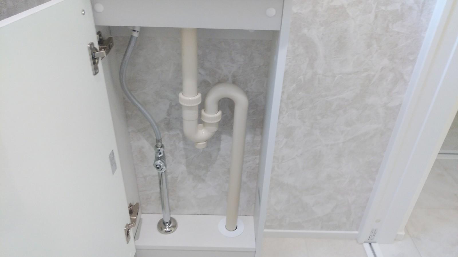 広島県広島市佐伯区 新築住宅 給水給湯設備の配管工事